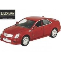 Cadillac Cts-V 2009 Amarant-Red 1/43