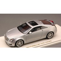 Cadillac Cts-V Coupe'-Radian 2011 Silver Metallic 1:43