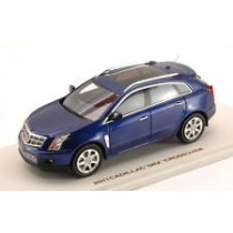 Cadillac Srx Crossover 2011 Imperial Blue 1:43