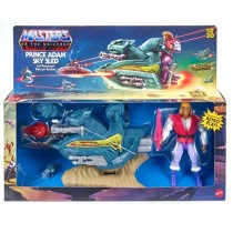 Masters of the Universe Origins Action Figure 2020 Prince Adam with Sky Sled