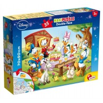 Maxi Puzzle Double-Face Supermaxi 35 Disney Lisciani