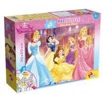 Maxi Puzzle Double-Face Disney Princess Lisciani