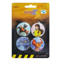 Mazinger Z Pins Set A