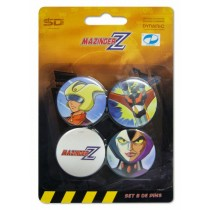 Mazinger Z Pins set B