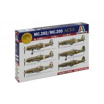 MC.202/MC.205 Italian ACES by Italeri