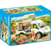 Playmobil 70134 Furgone Mercato Bio