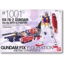 Metal Composite RX-78-2 Gundam Ver.Ka w/G-Fighter