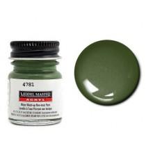Model Master Acrylic Dunkelgrun (Semi Gloss Dark Green) RLM71