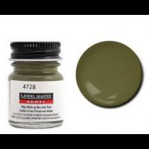 Model Master Acrylic Olive Drab 4728