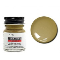 Model Master Acrylic Sandgelb (Semi Gloss Sand Brown) RLM79