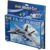 F-18 F/A 18C Hornet model set