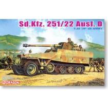Sd.Kfz.251/22 Ausf.D w/7.5cm PaK 40 Dragon