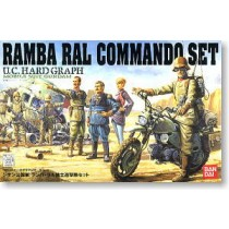 UCHG COMMANDO SET Ramba Ral Commando Set Bandai