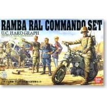UCHG COMMANDO SET Ramba Ral Commando Set Bandai