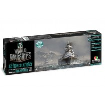 World of warships Bismark Italeri