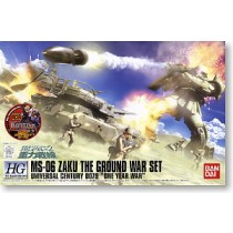 MS-06 Zaku Ground Attack Set HGUC