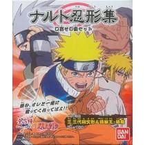 Naruto Collection Kuchiyose no Zyutsu, set of 5