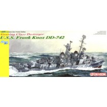US Navy Gearing class destroyer DD-742 Frank Knox