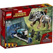 Super Heroes Rhino Face-off by the Mine