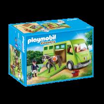Playmobil country Furgone trasporto cavalli