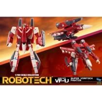 Robotech Super Veritech Fighter Collection Action Figure 1/100 VF-1J Miriya