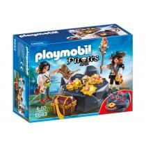 Nascondiglio del tesoro Playmobil
