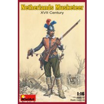 Netherlands Musketter - XVII Century by MiniArt