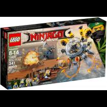 LEGO  NINJAGO MOVIEA Nya s water brigade