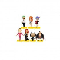 One Piece WCF One Piece Film Gold Val 2 7 pcs