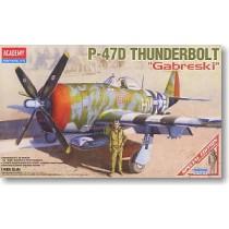 P-47D Thunderbolt Gabreski boarding aircraft