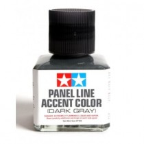 Panel Line Accent Color Dark Gray