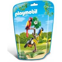 Playmobil Zoo Papagalli e Tucani
