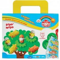Didò Nido Pasta da modellare l'albero racconta