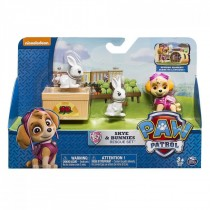 Paw Patrol Rescue Action Skie & Bunnies