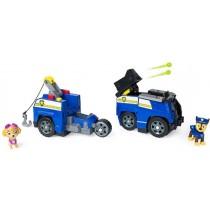 PAW Patrol Veicolo Split-Second Auto della Polizia di Chase