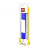 Lego set di due penne gel colore blu