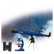 Pentaflex set telscopio + microscopio + binocolo