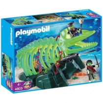 Playmobil Ghost While Skeleton 4803