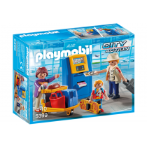 Famiglia all'imbarco Playmobil