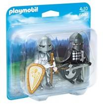Playmobil coppia di cavalieri