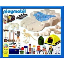 Playmobil's Sets 3184 Skeleton Excavation Site