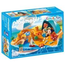 Playmobil Family Fun Famiglia in spiaggia