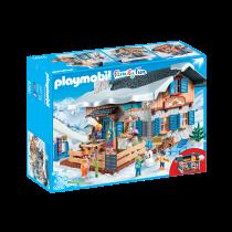 Playmobil rifugio degli sciatori