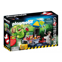 Slimer carretto degli hot dog Playmobil