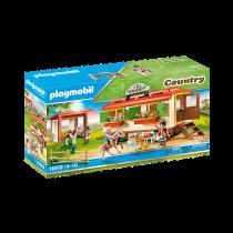 Playmobil 70510 – Ranch dei Pony con Roulotte