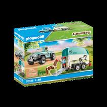 Playmobil 70511 – Fuoristrada con rimorchio