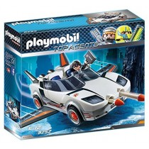 Playmobil Top Agents Veicolo Spia Agente