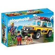 Playmobil Action Jeep soccorso Alpino