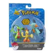 Pokemon grovyle . combusken . marshtomp Tomy