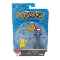 Pokemon Action Figure Ash & Pikachu